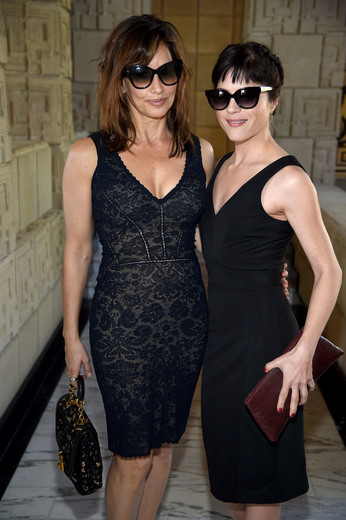 LOS ANGELES, CA - FEBRUARY 25: Actresses Gina Gershon and Selma Blair attend the M.A.C Cosmetics Zac Posen luncheon at the Ennis House hosted by Karen Buglisi Weiler, Demi Moore & Jacqui Getty on February 25, 2016 in Los Angeles, California. (Photo by Dimitrios Kambouris/Getty Images for MAC Cosmetics) Photo Credit - Getty Images for MAC Cosmetics