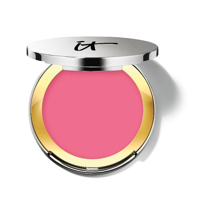 IT Cosmetics NEW CC+™ Vitality Brightening Crème Blush in Sais Quoi™ shade