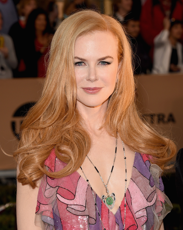 Actress Nicole Kidman attends The 22nd Annual Screen Actors Guild Awards at The Shrine Auditorium on January 30, 2016 in Los Angeles. Photo Credit:Photo by Jason Merritt/Getty Images for Turner