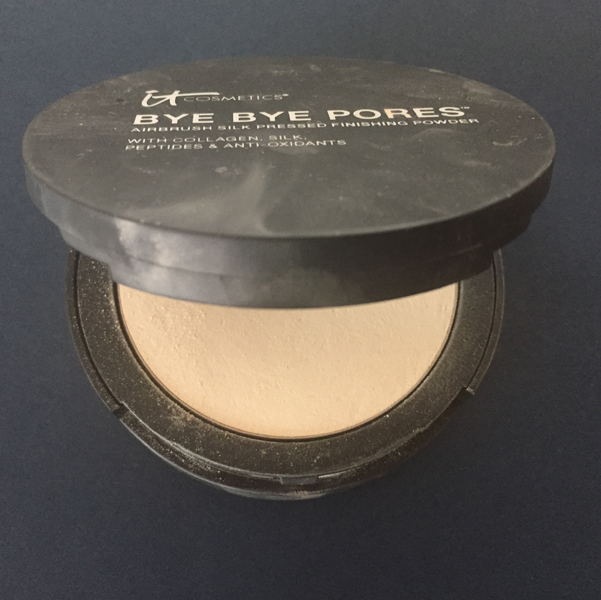 It Cosmetics Bye Bye Pores Airbrush Silk Pressed Anti-Aging Finishing Powder
