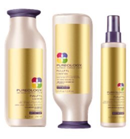 Pureology's NEW FullFyl 3-Step Thickening System