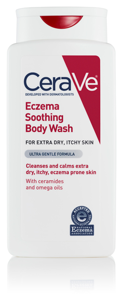 NEW CeraVe Eczema Soothing Body Wash
