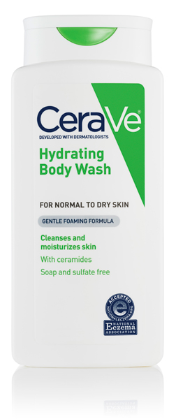 NEW! CeraVe® Hydrating Body Wash