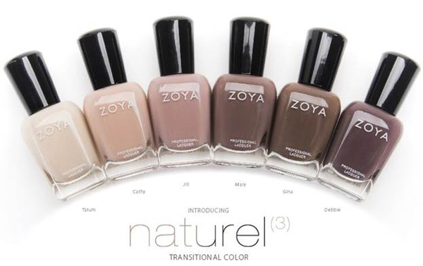 Zoya Nail Polish Naturel 3 Collection