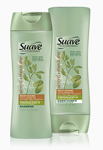 Suave Almond + Shea Butter Moisturizing Shampoo & Conditioner