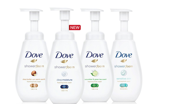 Dove Introduces NEW Shower Foam