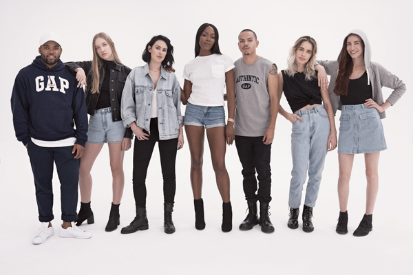 Gap Launches '90's Archive Re-Issue Collection
