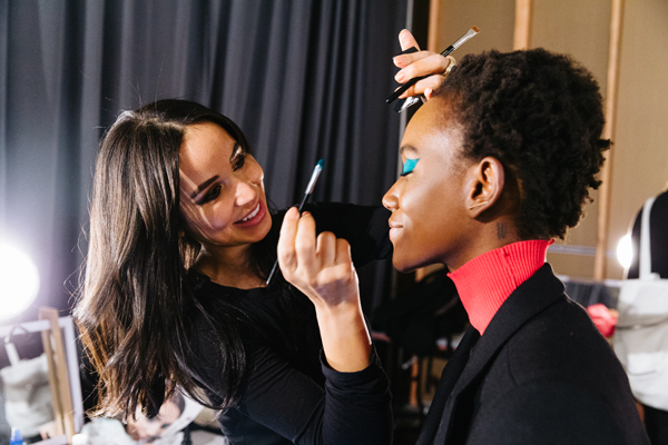 Maybelline New York Rochambeau FW17 Makeup Recap - Herieth Paul.