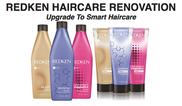 Redken Haircare Renovation. Upgrade to smart haircare.