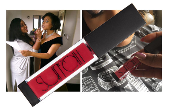 OSCARS BEAUTY: Taraji P. Henson in Surratt Beauty -Look by Ashunta Sheriff