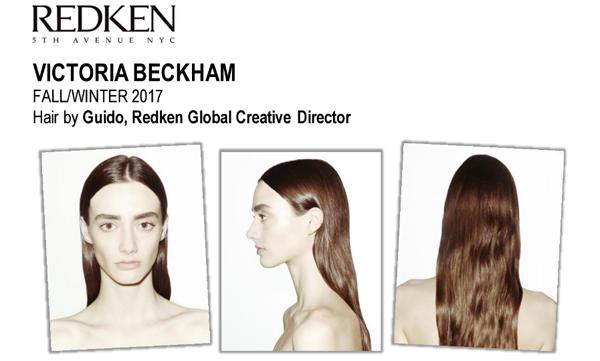 Redken's FW2017 Victoria Beckham