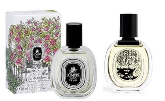 new diptyque travel sized 30ml L'ombre dans L'Eau Eau de Toilet