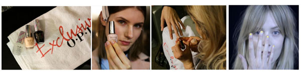 OPI x Stella McCartney Paris Fashion Week