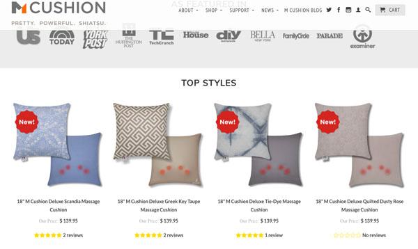 M Cushion