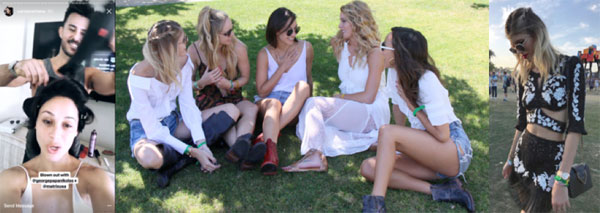 Celebs Get Boho Ready for Coachella with Matrix with George Papanikolas