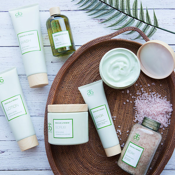 new aromatherapeutic skincare collection from Arbonne