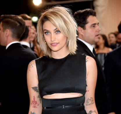 Paris Jackson for the 2017 Met Gala on Monday, May 1st in New York, NY.