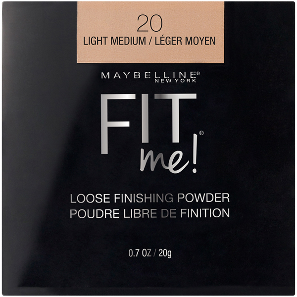 Maybelline New York Fit Me Loose Powder_Light Medium