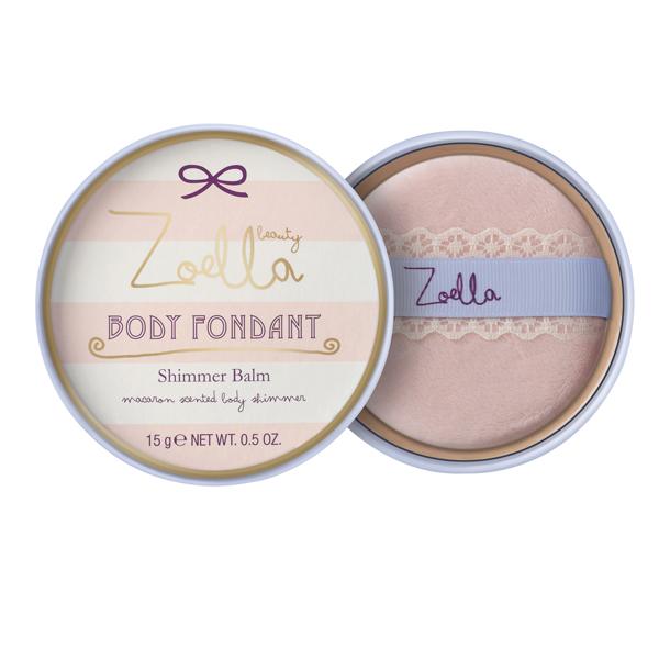 Zoella Body Fondant shimmer balm