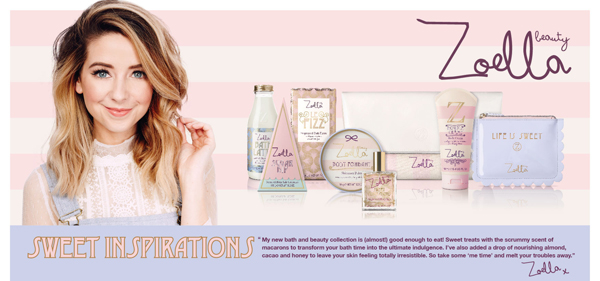 Zoella Sweet Inspirations Newly Launched at Ulta.com