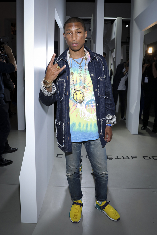 Pharrell Williams Gabrielle Chanel Party