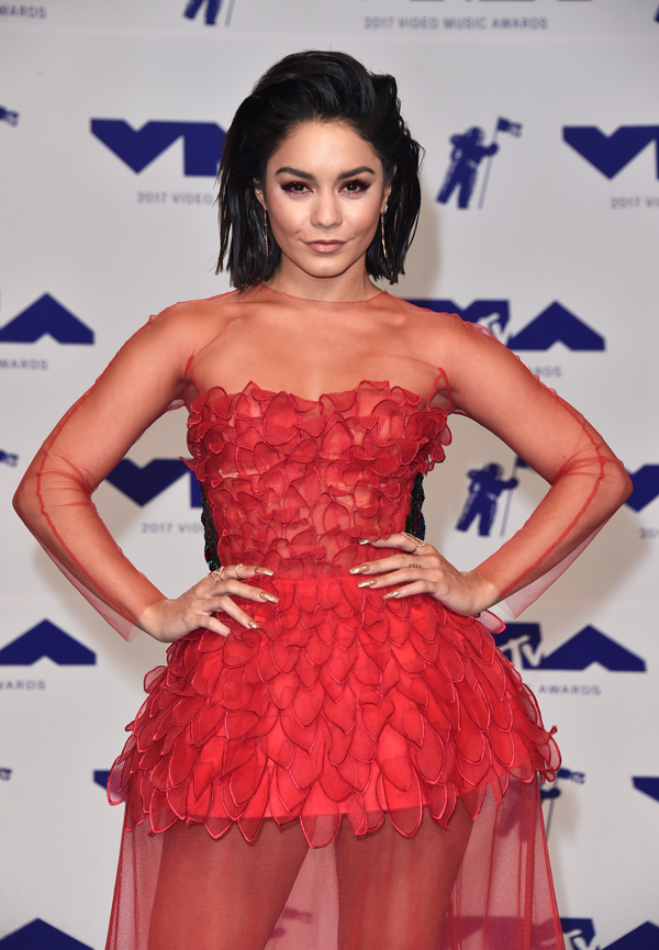 2017 MTV VMA GTL: Vanessa Hudgens with John Frieda Hair Care