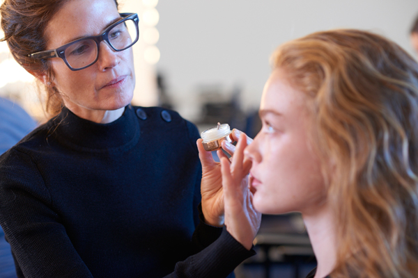 SK-II & Gucci Westman Backstage At Hellessy SS18 NYFW