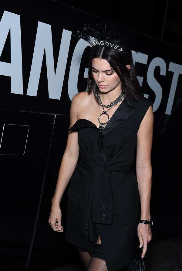 Kendall Jenner at Alexander Wang SS2018