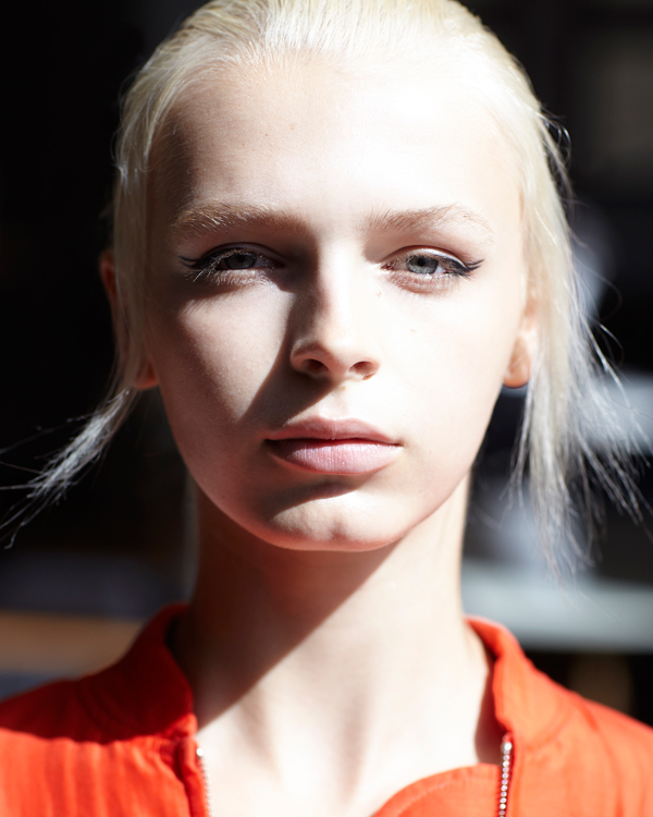 Maybelline New York backstage at MONSE