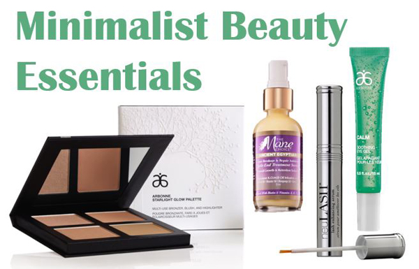Purse-sized beauty products for on the go minimalists