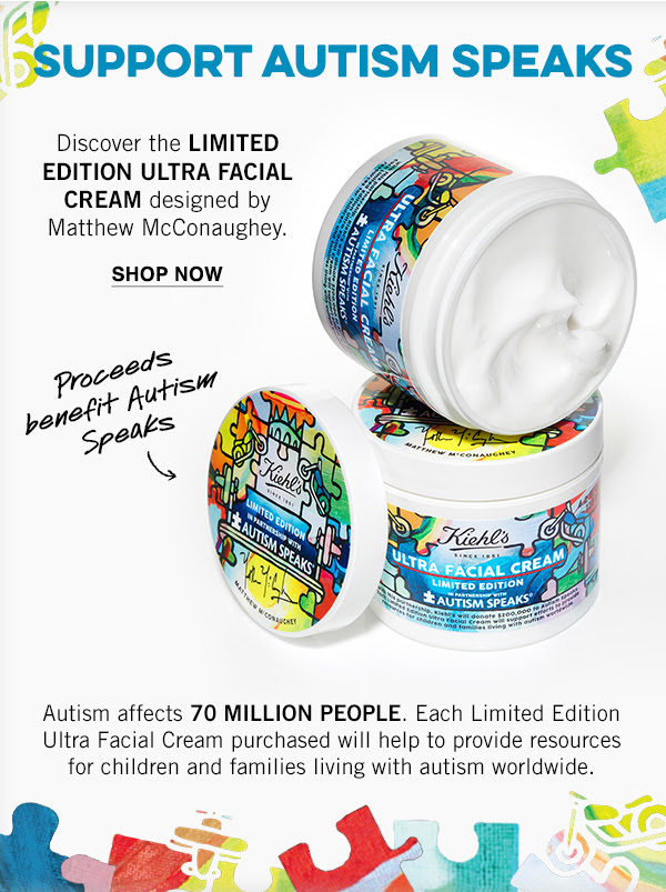 Kiehl's & Autism Speaks